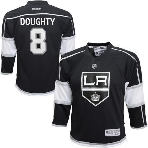 リーボック ホッケー NHL アメリカ 全米 メジャー Reebok Drew Doughty ロサンゼルス Kings Preschool ブラック Replica Player Jersey