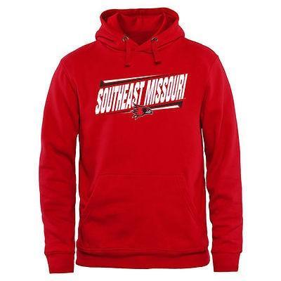 ファナティックスブランディッド カレッジ スポーツ NCAA アメリカ USA 大学 S.E. Missouri State レッドホークス レッド ダブル Bar プルオーバーパーカー