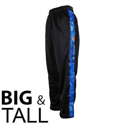 ジップウェイ バスケットボール NBA 全米 アメリカ メジャー New York Knicks Big Tall ブループリント Panel Pant - ブラック/Royal ブルー