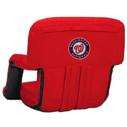 超格安価格 ピクニックタイム ベースボール MLB 野球 アメリカ メジャー 全米 Washington Nationals レッド Ventura ポータブル Seat, お線香とお仏壇 だいご 20689ec3