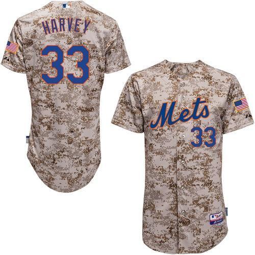 ★決算特価商品★ マジェスティック ベースボール MLB 野球 アメリカ メジャー 全米 Majestic Matt Harvey New York Mets Camo 6300 Player オーセンティック Jersey, 中里村 1479ce50