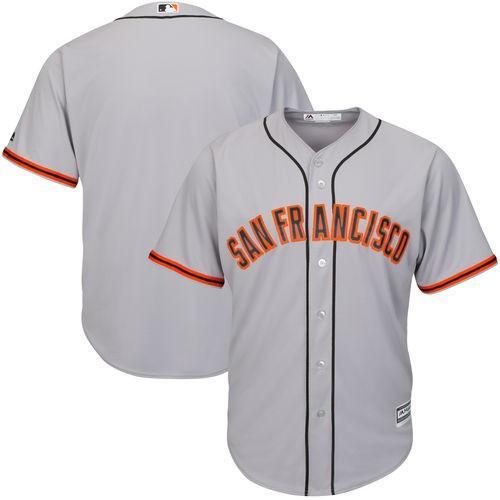 マジェスティック ベースボール MLB 野球 アメリカ メジャー 全米 Majestic San Francisco Giants ユース グレー Road Official Cool Base Jersey