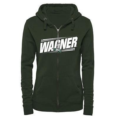 品質保証 ファナティックスブランディッド カレッジ スポーツ NCAA アメリカ USA 大学 Wagner College Seahawks レディース グリーン ダブル Bar Full ジップ パーカー, 誠 メガネ買取販売 356b5520