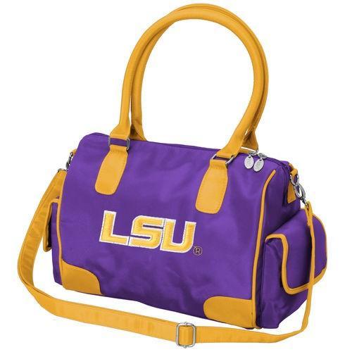 カレッジ NCAA 大学 アメリカ スポーツ USA チャーム14 ニューヨーク LSU Tigers Women's Deluxe Handbag Purse