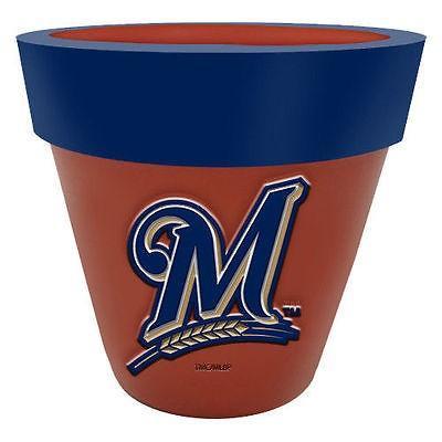 フットボール NFL アメリカ USA 全米 メジャー ザメモリーカンパニー Milwaukee Brewers Team Planter Flower Pot
