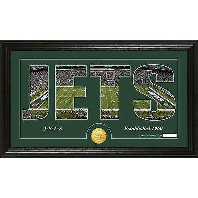 激安正規品 レプリカ ユニフォーム 応援 フットボール Photomint NFL ハイランドミント Highland Mint New Highland Jets York Jets Bronze Coin 12