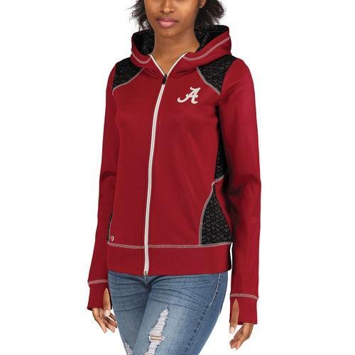 カレッジ NCAA アメリカ USA 大学 スポーツ コロシアム Colosseum Alabama Crimson Tide レディース Crimson Scaled Full-Zip ジャケット
