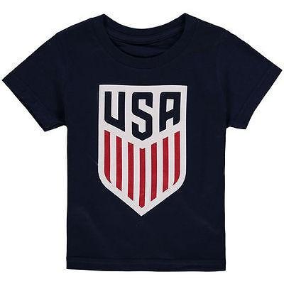 フットボール メジャー USA 全米 アメリカ NFL アウタースタッフ US National Team Toddler ネイビー Logo Tシャツ
