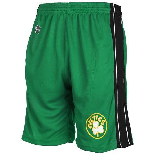 バスケットボール NBA USA アメリカ Majestic Boston Celtics Boys ユース Kelly グリーン 合皮 Panel ボトムス