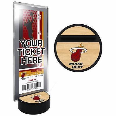 バスケットボール NBA USA アメリカ Miami Heat チケット ディスプレイ Stand