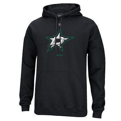 【人気No.1】 ホッケー NHL アメリカ USA アメリカ ロゴ Reebok NHL Dallas Stars Primary ロゴ プルオーバーパーカー ブラック, ユキポート:39d2d37e --- airmodconsu.dominiotemporario.com