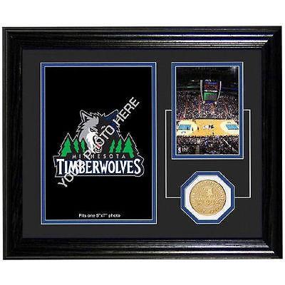 バスケットボール NBA USA アメリカ Minnesota Timberwolves 10'' x 12'' Fan Memories Desktop Photoミント