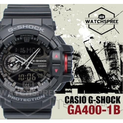 【超歓迎された】 腕時計 腕時計 カシオ Case Casio G-Shock World-Popular Big Case Series Series GA400-1B, ブールミッシュ:4c89b23f --- airmodconsu.dominiotemporario.com