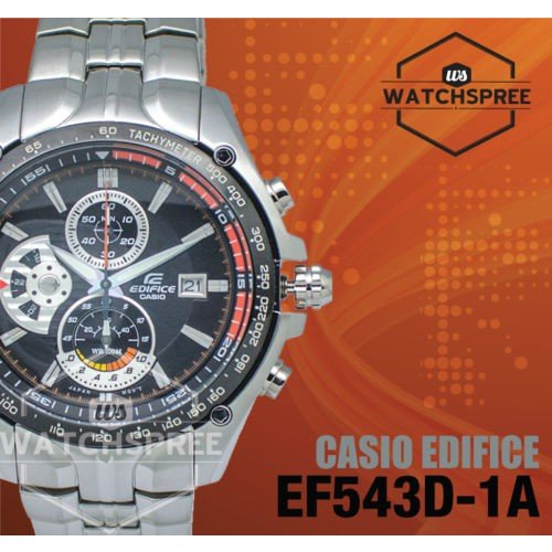 65%OFF【送料無料】 腕時計 Edifice カシオ Casio Edifice Watch Watch EF543D-1A EF543D-1A, ハトヤママチ:8468bf36 --- chizeng.com