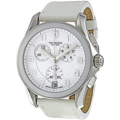 豪華で新しい 海外セレクション New Victorinox Swiss Army クロノグラフ クラシック Large レディース Date 腕時計 241500, ドライフラワー工房ねこじゃらし 845d6825
