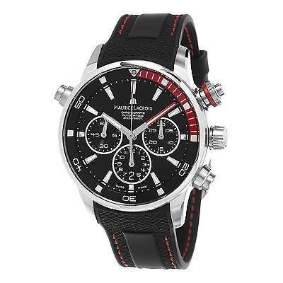 納得できる割引 腕時計 モーリスラクロア Maurice 腕時計 オートマチック Lacroix Pontos S クロノグラフ メンズ メンズ オートマチック 腕時計 PT6018-SS001-330-1, アツミグン:447b7147 --- opencandb.online