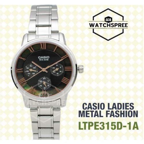 2018セール 腕時計 カシオ Standard Casio LTPE315D-1A Ladies' Standard Analog カシオ Watch LTPE315D-1A LTP-E315D-1A, ヤマナカフーズ:f822e66b --- airmodconsu.dominiotemporario.com