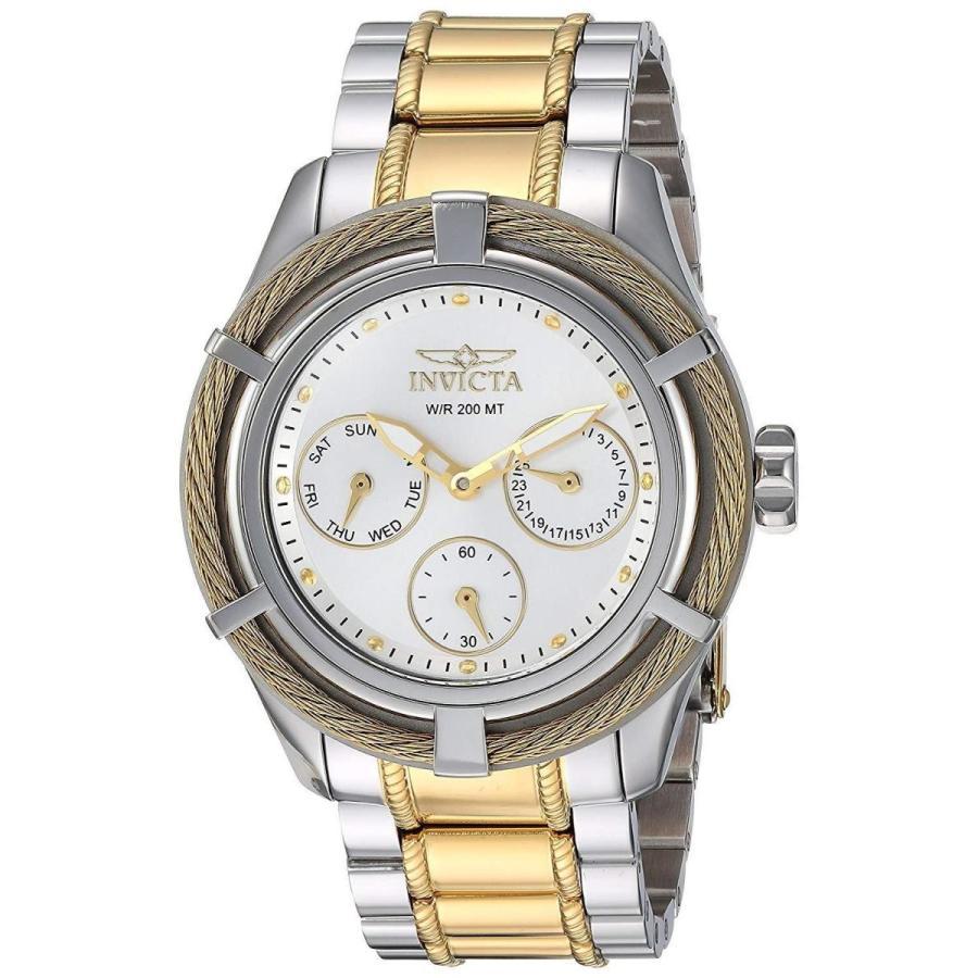 【待望★】 腕時計 インヴィクタ 24455 Invicta Stainless Bolt Invicta Women 38mm Quartz 24455 Multifunctio Stainless Steel Bracelet Watch, Tiger-Lily:c73d8ee7 --- airmodconsu.dominiotemporario.com