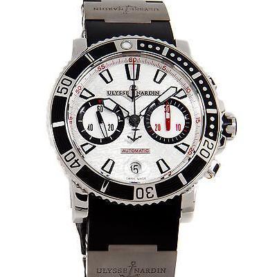 無料配達 ユリスナルダン 腕時計 腕時計 Ulysse Nardin Maxi Marine Diver クロノグラフ 腕時計 Auto Marine ストラップ 腕時計 8003-102-3/916, ニシオコッペムラ:b2bfb4c1 --- airmodconsu.dominiotemporario.com