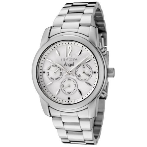 新しい到着 腕時計 インヴィクタ Invicta 0463 Women's Angel MOP Dial Steel Bracelet Dive Watch, 福島市 37b45be8
