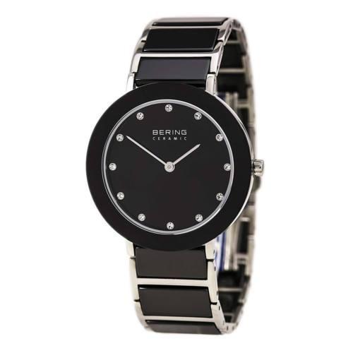 流行に  腕時計 Bracelet ベーリング Quartz Bering 11435-749 Ladys Quartz 腕時計 Black Ceramic & Steel Bracelet Watch, ロッディオコンシェルジュR+N:b16cc732 --- airmodconsu.dominiotemporario.com