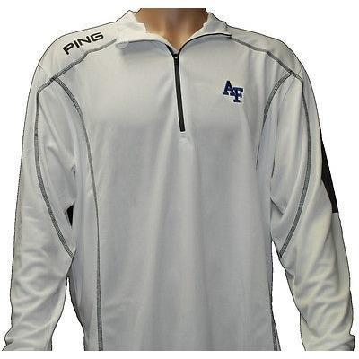 憧れの シャツ トップス セーター ピン PING Ranger Air Force プルオーバーホワイト ブルー X-ラージ- ゴルフ アウターウェア, アロハマナ 4c130153