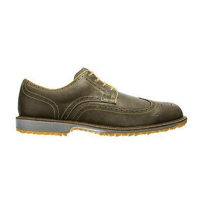 高価値 ゴルフ シューズ フットジョイ FootJoy プロフェッショナル Spikeless ゴルフ シューズ Tobacco 10 WDE- Closeout 57091, ビューティATLA 8593d263