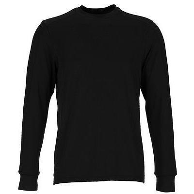 シャツ トップス セーター グレグ ノーマン Greg Norman Weatherニット Crew L/S Shirt ブラック ミディアム- ゴルフ アウターウェア