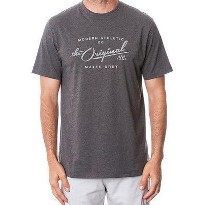 距離計 スコープ マットグレー Matte グレー ビンテージ Tee ブラック シルバー ラージ -メンズ ゴルフ shirt