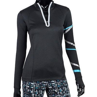 シャツ トップス セーター イーピープロアパレル Ep Pro レディース Reflective L/S Mock ゴルフ アウターウェア