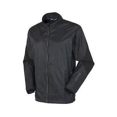 シャツ トップス セーター サンナイス Sunice Salford Wind ジャケット ブラック ラージ- ゴルフ outerwear