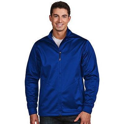 見事な シャツ トップス セーター アンティグア Antigua ゴルフ ジャケット ブルー XXX-ラージ- ゴルフ outerwear, フジオカチョウ 54653384