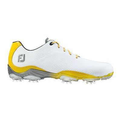 【破格値下げ】 ゴルフシューズ ゴルフ フットジョイ ミディアム- Footjoy Dna ゴルフ シューズ ホワイト ゴルフシューズ/イエロー 11.5 ミディアム- Closeout 53474, かわいい!:46ac25ae --- airmodconsu.dominiotemporario.com