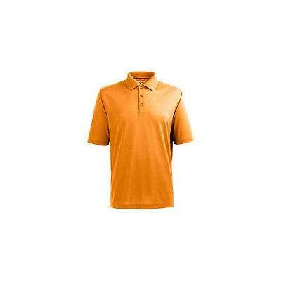 シャツ トップス セーター アンティグア Antigua Pique Xtra Lite Polo Tennessee オレンジ ラージ -メンズ ゴルフ shirt