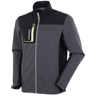 『3年保証』 ゴルフウェアボトムス サンアイス Sunice Lincoln DuoTech Thermal ジャケット ブラック/チャコール ミディアム- ゴルフ outerwear, ツルシ 621a494e