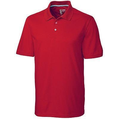 シャツ トップス セーター カッターアンドバック Cutter Buck Fairwood Polo レッド スモール -メンズ ゴルフ shirt