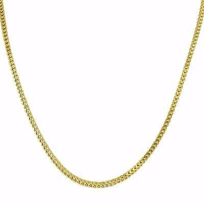 品質満点! ジュエリー 腕時計ネックレス マスターオブブリング メンズ Franco Link ネックレス Cuban Box Chain Real 10k イエロー ゴールド 40 Inches 2 mm, 空の星-ESSENCE OF POISONと仲間達 3b116cbe