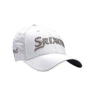 ゴルフ バイザー 帽子 スリクソン Srixon Srx/Cg Tour Cap ホワイト/グレー メンズ ゴルフ hat