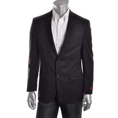 激安先着 アルファーニ ブレザー 46R スポーツコート アウター Alfani Fit 3308 メンズ ブラック BHFO ウール スリム Fit Two-Button Suit ジャケット Blazer 46R BHFO, 安芸津町:5a82f6f4 --- airmodconsu.dominiotemporario.com