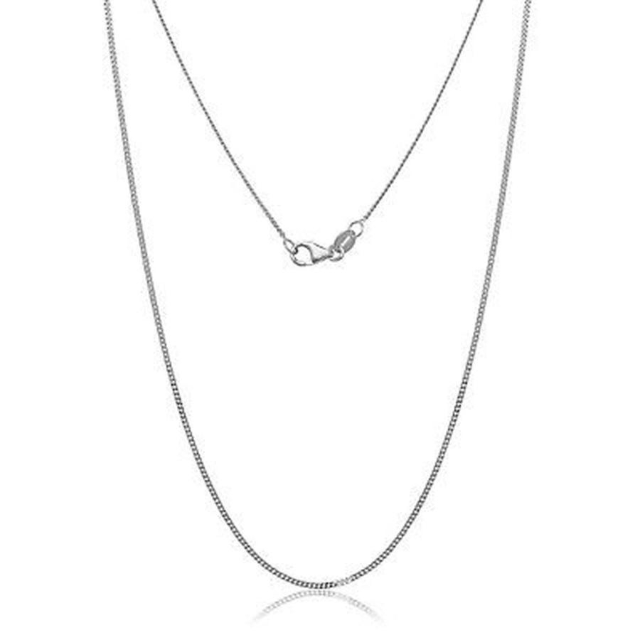 限定価格セール! ファッションアクセサリー アンブランデッド 10k Gold 10k Chain White Gold Gourmette Chain Necklace, オオトウムラ:01af0b31 --- airmodconsu.dominiotemporario.com