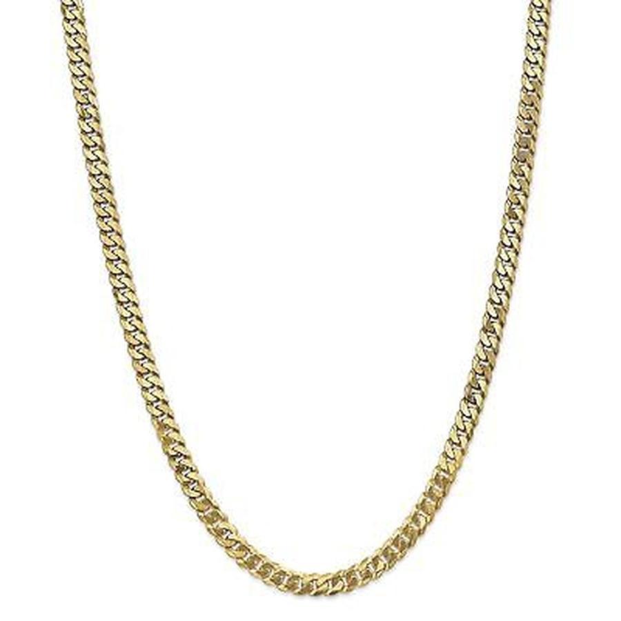 世界的に Versil 海外直輸入ブランドアクセサリー 14k イエロー ゴールド 6.1mm Beveled Beveled 14k Curb Curb チェーン Necklace, 富浦町:b88e38b7 --- airmodconsu.dominiotemporario.com