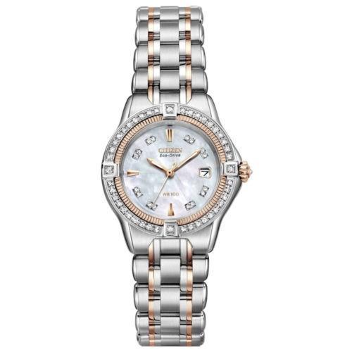 沸騰ブラドン 腕時計 シチズン Citizen EW2066-58D Women's Signature Quattro Diamond Watch *NWD*, 書画肆しみづ a99911b8