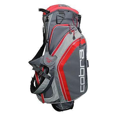 ゴルフ用品ゴルフバッグCobra Fly Z ゴルフ スタンド バッグ キャリー グレー/Flame Scarlet レッド
