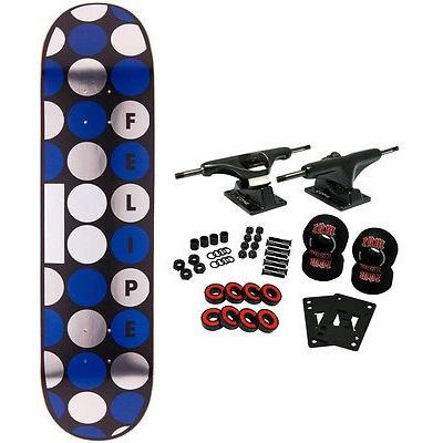 スケボー プランビー スケートボードコンプリート PLAN B スケートボード スケボ Complete FELIPE DOTS 8