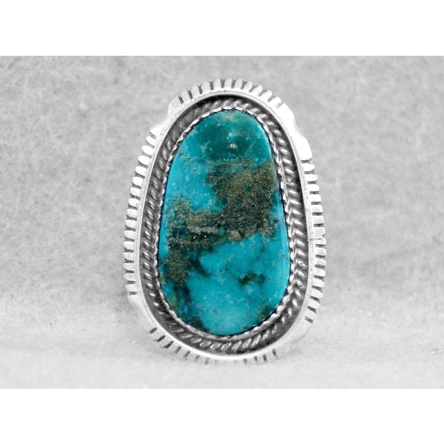 新品登場 リング・指輪 海外セレクション Navajo リング Damele ターコイズ サイズ 8 Rare スターリング シルバー ネイティブ アメリカン W, M-Assist 03e2f5ce