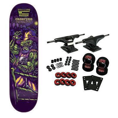 スケボー クリーチャー スケートボードコンプリート CREATURE スケートボード スケボ Complete CREATUREMANIA PARTANEN 8.3'