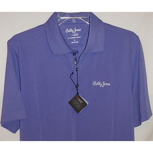 シャツ トップス セーター ボビー?ジョーンズ Bobby Jones Tour XH20 Performance Solid Pique s/s polo Lg(Grapeパープル)
