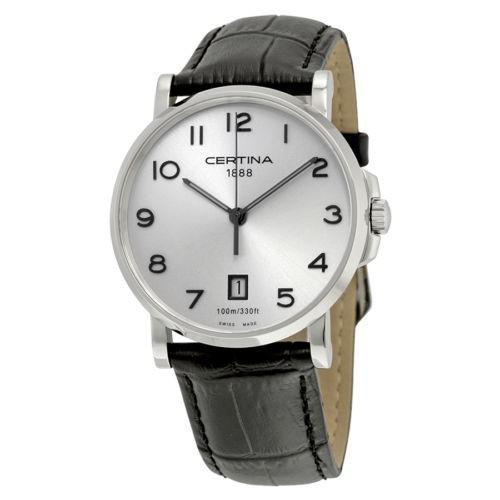 週間売れ筋 サーチナ DS Caimano シルバー 腕時計 シルバー ダイヤル ブラック レザー レディース 腕時計 C0174101603200 C0174101603200, ジュエリー 11時のティータイム:c33fd0ba --- airmodconsu.dominiotemporario.com