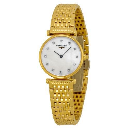 最新エルメス 腕時計 ロンジン Longines スチール イエロー ゴールド-プレート ステンレス ロンジン スチール 腕時計 レディース 腕時計 L4.209.2.87.8, ミクモチョウ:02236cf6 --- airmodconsu.dominiotemporario.com