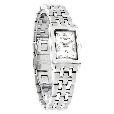 【大放出セール】 腕時計 レイモンドウイル Raymond Weil Tango レディース シルバー ダイヤル スイス クォーツ 腕時計 5971-ST-00658, ナガイシ d31d8570